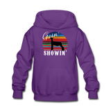 Goin' Showin' Show Lamb Kids' Hoodie - purple