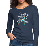 Show Lamb Southwest Indian Design-Jesus Saved & Barn Raised - navy
