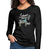 Show Lamb Southwest Indian Design-Jesus Saved & Barn Raised - charcoal gray