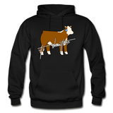 It's Showtime Show Hereford Steer Hoodie - black