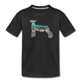 Southwest Indian Show Lamb Kids' Premium T-Shirt - black