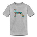 Southwest Indian Show Lamb Kids' Premium T-Shirt - heather gray