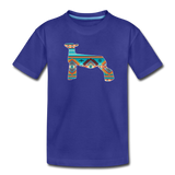 Southwest Indian Show Lamb Kids' Premium T-Shirt - royal blue