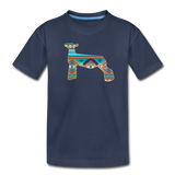Southwest Indian Show Lamb Kids' Premium T-Shirt - navy