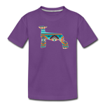 Southwest Indian Show Lamb Kids' Premium T-Shirt - purple