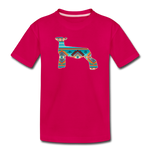 Southwest Indian Show Lamb Kids' Premium T-Shirt - dark pink