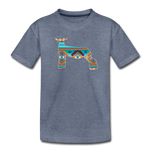 Southwest Indian Show Lamb Kids' Premium T-Shirt - heather blue