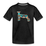 Southwest Indian Show Lamb Kids' Premium T-Shirt - charcoal gray