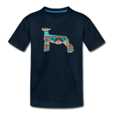 Southwest Indian Show Lamb Kids' Premium T-Shirt - deep navy