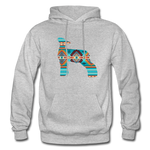 Southwest Indian Lamb Adult Hoodie - heather gray