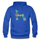 Southwest Indian Lamb Adult Hoodie - royal blue