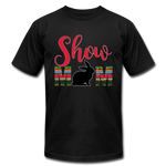 Show Mom Show Rabbit, Livestock Show Bunny, 4H Mom, Serape Cheetah Print, Southwest Boho - black