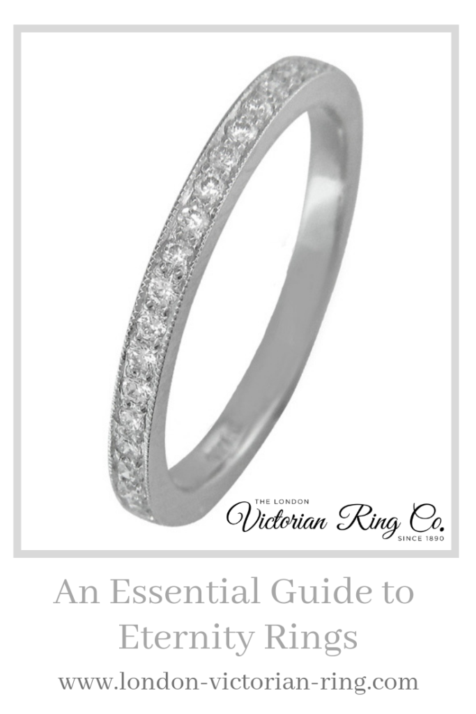 An Essential Guide to Eternity Rings - Pinterest - London Victorian Ring UK