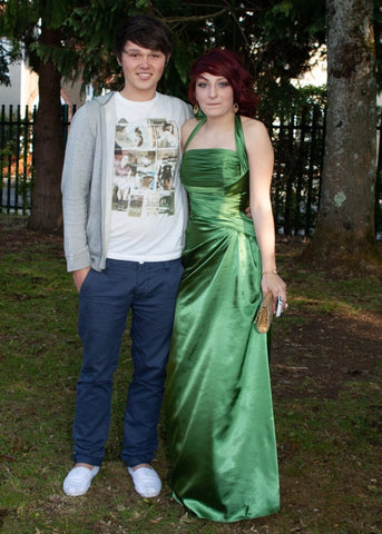 Ryan and Evie in 2011
