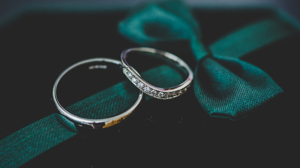 Wedding rings from London Victorian Ring Co