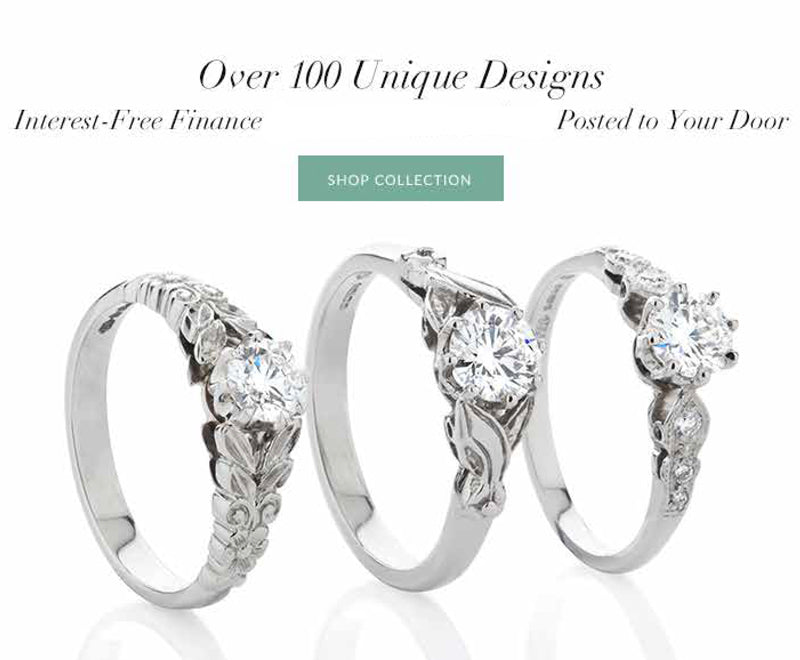 Buy your engagement ring from Hatton Garden jeweller with interest free finance and extended return policy.
