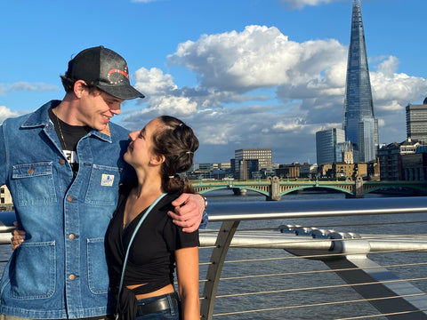 Steven and Ashley in London