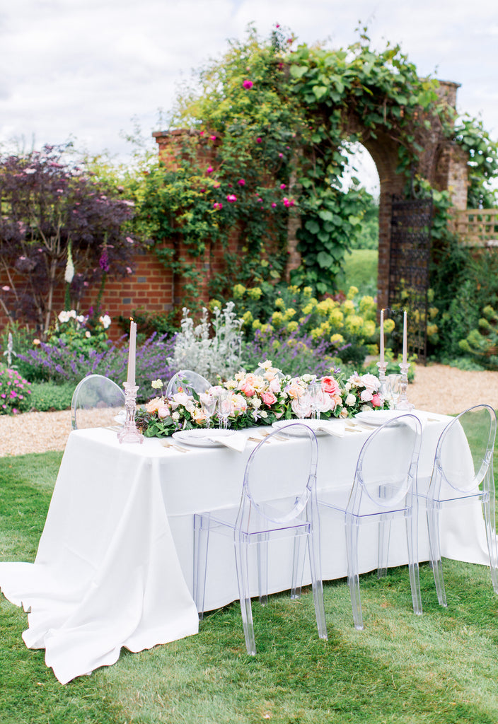 Archway at Bignor Park with Wedding Table