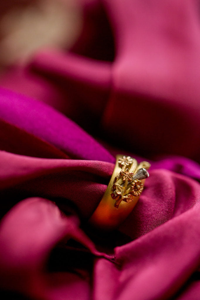 language of flowers rings | made in london