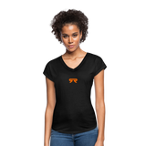 Women's V-Neck - black