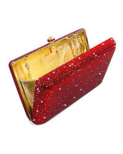 Load image into Gallery viewer, Dolli Lily Brand New Clutch with 0ctw crystal  Yellow base metal