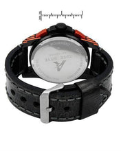Load image into Gallery viewer, Adee Kaye ak7141-MLB/BK-OR Brand New Quartz date Watch