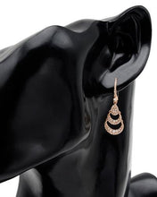 Load image into Gallery viewer, Brand New Earring with 0.75ctw diamond 14K Rose gold
