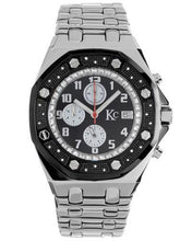 Load image into Gallery viewer, KC WA007958 Brand New Japan Quartz date Watch with 0.048ctw diamond