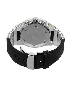 Techno Com by KC Brand New Japan Quartz date Watch with 5ctw diamond