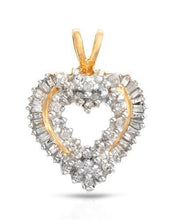 Load image into Gallery viewer, Brand New Pendant with 0.25ctw diamond 10K Yellow gold