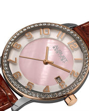 Load image into Gallery viewer, AUGUST Steiner AS8056 Brand New Swiss Quartz date Watch with 0ctw of Precious Stones - crystal and mother of pearl