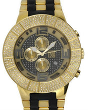 Load image into Gallery viewer, Techno Com by KC Brand New Japan Quartz date Watch with 1.5ctw diamond