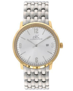 Adee Kaye AK8224-LGG Brand New Japan Quartz date Watch