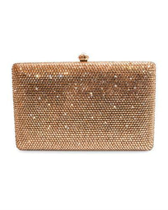 Dolli Lily Brand New Clutch with 0ctw crystal  Rose base metal