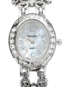 Varsales 4757-1 Brand New Quartz Watch with 0ctw crystal