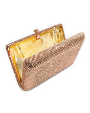 Load image into Gallery viewer, Dolli Lily Brand New Clutch with 0ctw crystal  Rose base metal