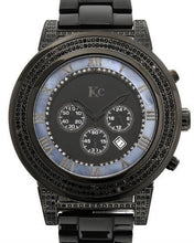 Load image into Gallery viewer, KC Brand New Japan Quartz date Watch with 1.5ctw of Precious Stones - crystal, diamond, and mother of pearl