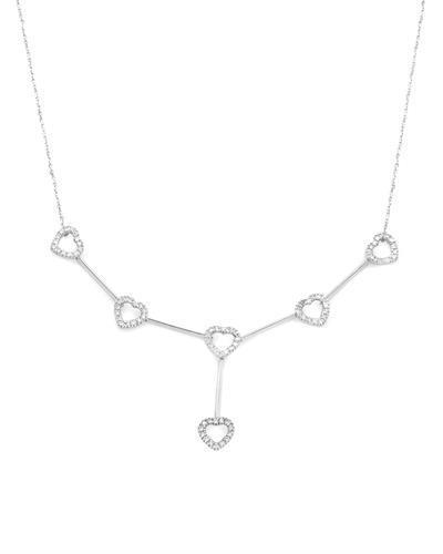 Brand New Necklace with 0.5ctw diamond 14K White gold