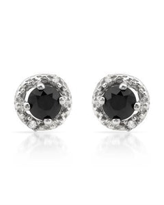 Brand New Earring with 0.52ctw of Precious Stones - diamond and diamond 925 Silver sterling silver