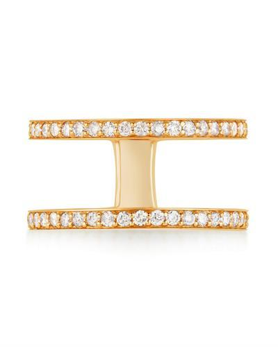 Kono Collection Brand New Ring with 0.6ctw lab-grown diamond 14K Yellow gold