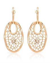 Load image into Gallery viewer, Brand New Earring with 0.31ctw diamond 14K Rose gold