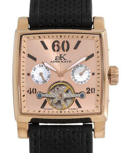Adee Kaye AK9043-MRG Brand New Automatic day date Watch with 0ctw mother of pearl