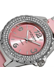 Load image into Gallery viewer, Akribos XXIV AK514PK Brand New Quartz Watch with 0ctw cubic zirconia