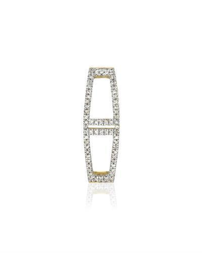 Brand New Pendant with 0.1ctw diamond 14K Yellow gold