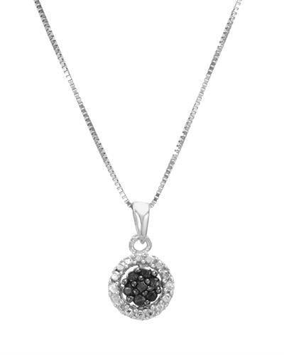 Brand New Necklace with 0.03ctw of Precious Stones - diamond and diamond 925 Silver sterling silver