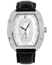Load image into Gallery viewer, Techno Com by KC Brand New Japan Quartz day date Watch with 1.5ctw of Precious Stones - crystal, diamond, and mother of pearl