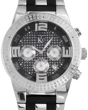 Load image into Gallery viewer, KC WA007049 Brand New Quartz day date Watch with 0.4ctw diamond