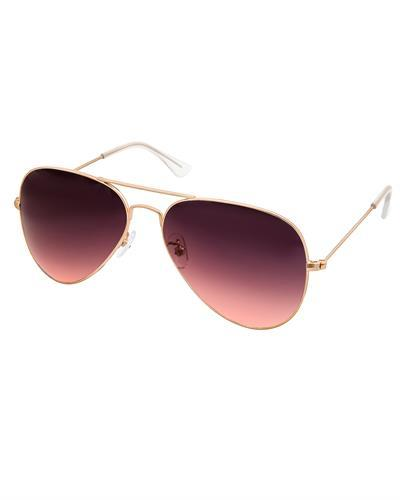 AQS MAS005 Pink/Black Mason Brand New Sunglasses  Gold metal