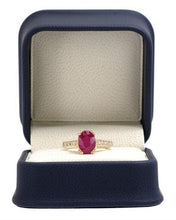 Load image into Gallery viewer, Brand New Ring with 2.15ctw of Precious Stones - diamond and ruby 14K Yellow gold