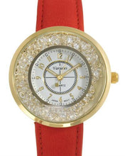Load image into Gallery viewer, Varsales V5041-2 Brand New Japan Quartz Watch with 0ctw crystal